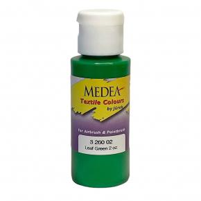 Краска для ткани Medea Leaf Green Opaque Зеленые листья укрывистая 326002