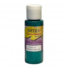 Краска для ткани Medea Phthalo Green Opaque Зеленая фтало укрывистая 326102
