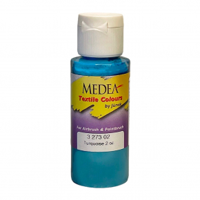 Краска для ткани Medea Torquoise Opaque Бирюзовая укрывистая 327302