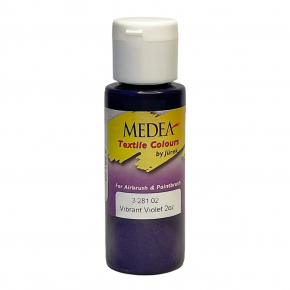 Краска для ткани Medea Vibrant Violet Opaque Фиолетовая яркая укрывистая 328102