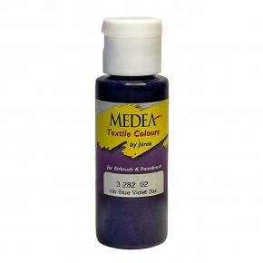 Краска для ткани Medea Vibrant Blue Violet Opaque Сине-фиолетовая укрывистая 328202