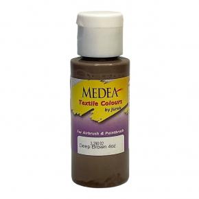 Краска для ткани Medea Deep Brown Opaque Темно-коричневая укрывистая 329002