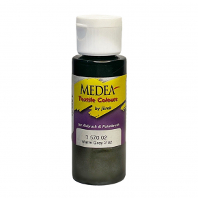Краска для ткани Medea Warm Gray Серый теплый 357002