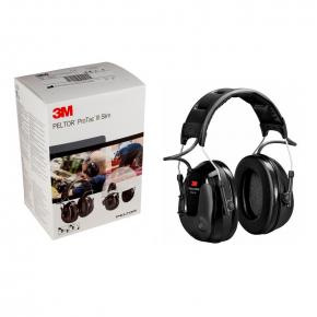 Наушники активные 3М Protac III Slim MT13H220A 26 дБ с внешними микрофонами - изображение 5 - интернет-магазин tricolor.com.ua