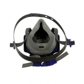 Полумаска 3M Secure Click HF-802 размер M средний - изображение 2 - интернет-магазин tricolor.com.ua