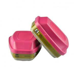 Фильтр 3M 60928 для защиты от органических, неорганических, кислых газов и паров, аммиака, аэрозольных частиц пара - интернет-магазин tricolor.com.ua