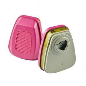 Фильтр 3M 60928 для защиты от органических, неорганических, кислых газов и паров, аммиака, аэрозольных частиц пара - изображение 2 - интернет-магазин tricolor.com.ua
