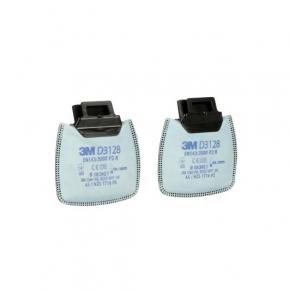 Фильтр 3M Secure Click D3128 P2 R защита от органических и кислых газов и паров, от озона (пара)