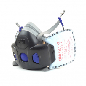 Фильтр 3M Secure Click D3138 P3 R защита от органических и кислых газов и паров, от озона (пара) - изображение 2 - интернет-магазин tricolor.com.ua