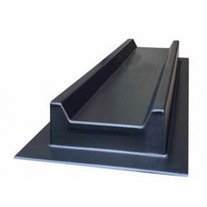 Форма для водостока №4 Прямоугольный желоб 50х16х5 см АБС BF - интернет-магазин tricolor.com.ua
