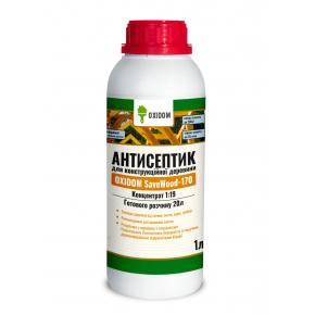 Oxidom SaveWood-170 антисептик для конструкционной древесины концентрат 1:19
