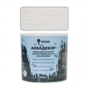 Аквадекор Oxidom белый - интернет-магазин tricolor.com.ua