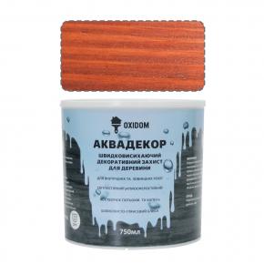 Аквадекор Oxidom махагон - интернет-магазин tricolor.com.ua