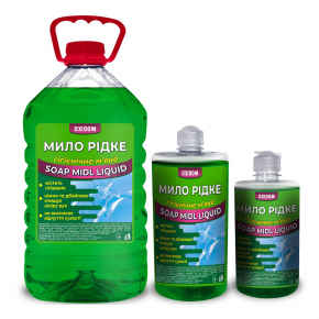 Жидкое мыло гигиеническое Oxidom Лимон - изображение 2 - интернет-магазин tricolor.com.ua