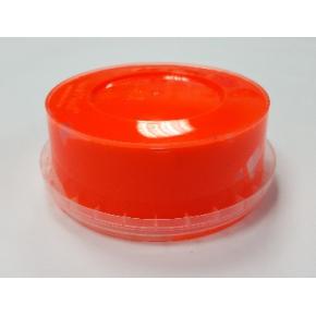 Краска флуоресцентная пластизольная оранжевая - изображение 2 - интернет-магазин tricolor.com.ua