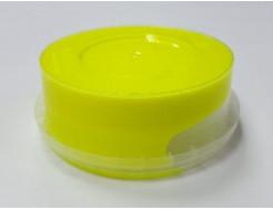 Краска флуоресцентная пластизольная желтая - изображение 2 - интернет-магазин tricolor.com.ua