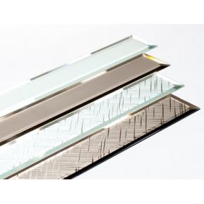 Фацет стекла прямолинейный 15 мм