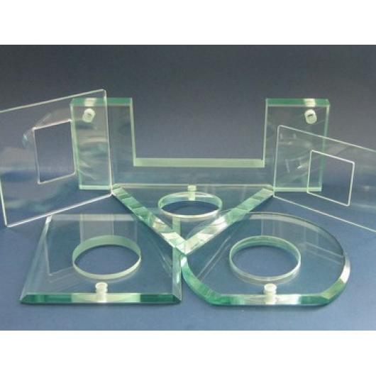Зенковка отверстий стекла 4-8 мм