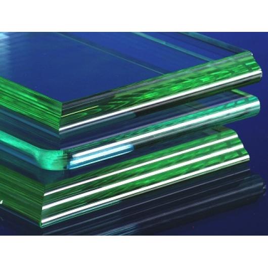 Обработка фигурной кромки стекла прямолинейная 10 мм