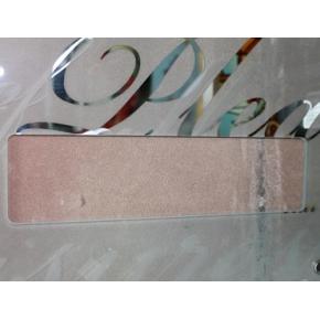 Вырез 4-х розеток на стекле 4-12 мм