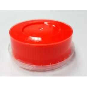 Краска флуоресцентная пластизольная красная - изображение 2 - интернет-магазин tricolor.com.ua