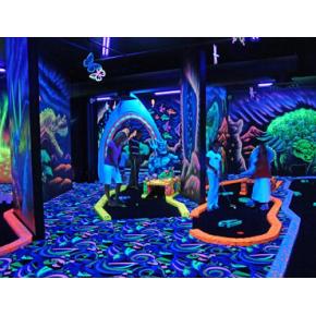 Краска флуоресцентная AcmeLight Fluorescent Concerte для бетона голубая