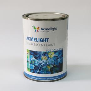 Краска флуоресцентная AcmeLight Fluorescent Concerte для бетона голубая - изображение 3 - интернет-магазин tricolor.com.ua