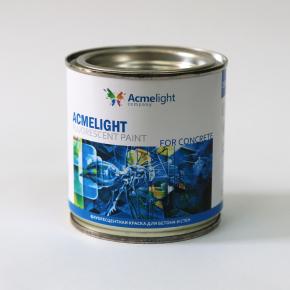 Краска флуоресцентная AcmeLight Fluorescent Concerte для бетона белая - изображение 2 - интернет-магазин tricolor.com.ua