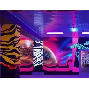 Краска флуоресцентная AcmeLight Fluorescent Concerte для бетона розовая - интернет-магазин tricolor.com.ua