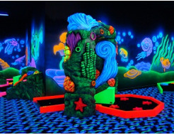 Краска флуоресцентная AcmeLight для бетона зеленая - изображение 2 - интернет-магазин tricolor.com.ua