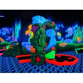 Краска флуоресцентная AcmeLight Fluorescent Concerte для бетона зеленая - изображение 2 - интернет-магазин tricolor.com.ua