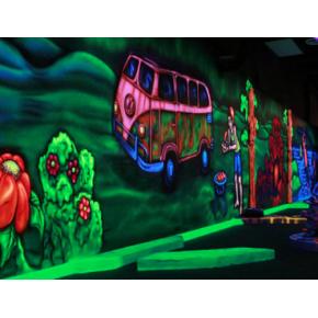 Краска флуоресцентная AcmeLight Fluorescent Concerte для бетона зеленая - интернет-магазин tricolor.com.ua