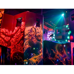 Краска флуоресцентная AcmeLight Fluorescent Concerte для бетона красная