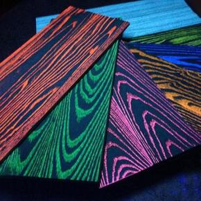 Краска флуоресцентная AcmeLight Fluorescent Wood для дерева оранжевая - изображение 4 - интернет-магазин tricolor.com.ua