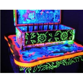 Краска флуоресцентная AcmeLight Fluorescent Wood для дерева оранжевая - интернет-магазин tricolor.com.ua