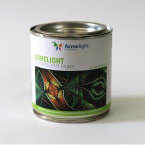 Краска флуоресцентная AcmeLight Fluorescent Wood для дерева оранжевая - изображение 2 - интернет-магазин tricolor.com.ua