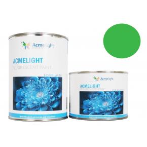 Краска флуоресцентная AcmeLight Fluorescent Plastic 2K для пластика зеленая