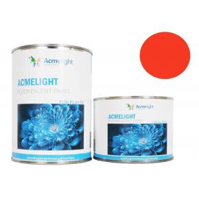Краска флуоресцентная AcmeLight Fluorescent Plastic 2K для пластика оранжевая
