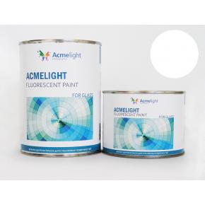 Краска флуоресцентная AcmeLight Fluorescent Glass 2K для стекла белая