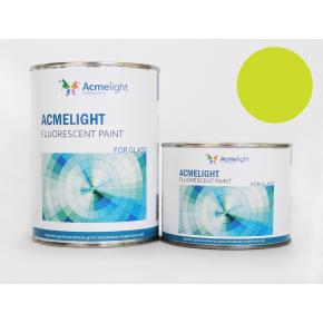Краска флуоресцентная AcmeLight Fluorescent Glass 2K для стекла желтая