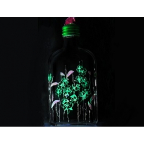 Краска флуоресцентная AcmeLight Fluorescent Glass 2K для стекла зеленая - интернет-магазин tricolor.com.ua