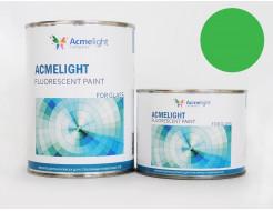 Купить Краска флуоресцентная AcmeLight для стекла (2К) зеленая - 23