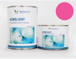 Купить Краска флуоресцентная AcmeLight для стекла (2К) розовая - 24