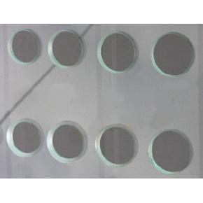 Сверление отверстий диаметром 45,50,55,60,80мм стекла 4 мм