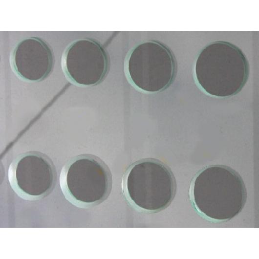Сверление отверстий диаметром 45,50,55,60,80мм стекла 10 мм