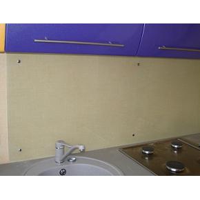 Кухонный фартук из стекла прозрачный - изображение 2 - интернет-магазин tricolor.com.ua