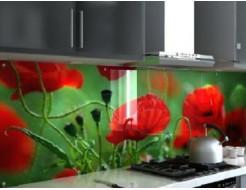 Кухонный фартук из стекла с фотопечатью - изображение 2 - интернет-магазин tricolor.com.ua