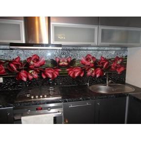 Кухонный фартук из стекла с фотопечатью - изображение 5 - интернет-магазин tricolor.com.ua