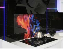 Кухонный фартук из стекла с фотопечатью - изображение 4 - интернет-магазин tricolor.com.ua