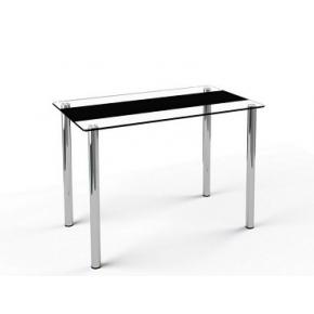 Стеклянный обеденный стол S1 1100*650 покраска - интернет-магазин tricolor.com.ua